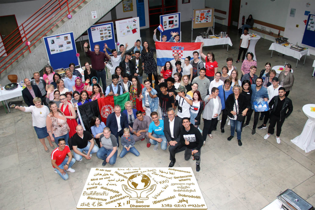 Interkultureller Abend an der Berufsschule Donauwörth